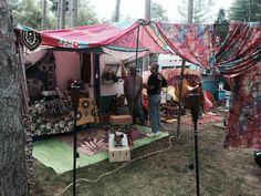 Boho vintage camper