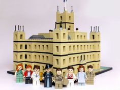 Un Américain reconstitue Downton Abbey en Lego pour sa fiançée ! …