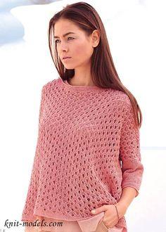 Вязаный пуловер для весеннего сезона. Обсуждение на LiveInternet - Российский Сервис Онлайн-Дневников