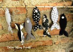 #peces #fish #tela #negro