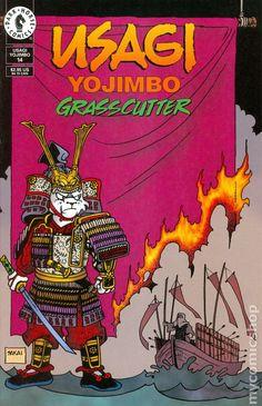 Usagi Yojimbo (1996- 3rd Series) 14 Ninja Uniform, Usagi Yojimbo, Comic Art, Comic Books, Death Of Superman, Lucky Luke, Bruce Timm, Image Comics, Dark Horse
