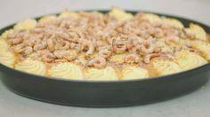 Eén - Dagelijkse kost - Een rijkelijke vispan met prei ... maar zonder mosselen en saus op basis van kreeften bouillon van PH