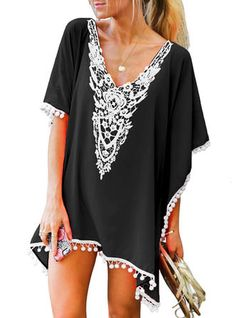 aa16efcb55 7 Stylish Beach Cover-ups | Summer Dinner Recipes | Fashion, Beach ...