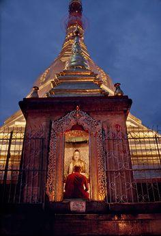 Shwedagon Pagoda, Rangoon, Burma/Myanmar