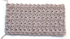 Follow this simple tutorial with a step by step video for beginners to learn how to crochet the star stitch baby blanket and other DIY stuff using it!