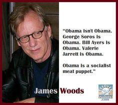 Obama isn't Obama. George Soros is Obama. Bill Ayers is Obama. Valerie Jarrett is Obama. Obama is a socialist meat puppet. | Straight Talk | flyoverculture.com