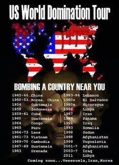 Kriege der USA!