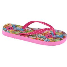 Shopkins Little Girls' Flip Flops -- See this awesome image  : Girls sandals
