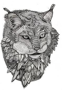 Pin On Cats Dogs Colouring Pages Zentangles