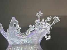 3d printed water splash - 3D Systems booth at Euromold 2014