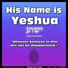 The eternal guarantee, #Yeshua.