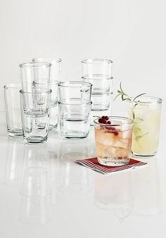 Toast to the holidays with classic style — Martha Stewart Everyday Entertaining glassware collection