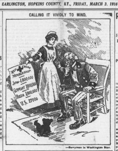 Mar 3 1916 Red Cross Membership Japan 1.8 million German 1 million Russia 1 million US 27000 http://chroniclingamerica.loc.gov/lccn/sn87060004/1916-03-03/ed-1/seq-1/#date1=3%2F3%2F1916&sort=relevance&date2=3%2F3%2F1916&sequence=1&index=2&rows=20&words=&dateFilterType=range&page=2