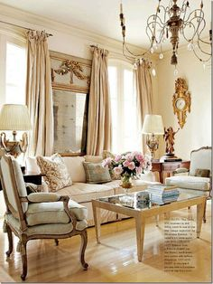 French country living room design ideas (40) - Coo Architecture