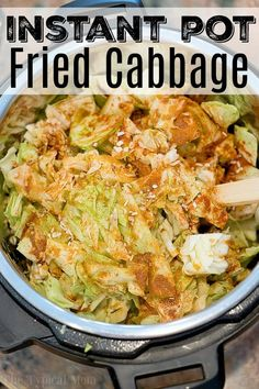 World's Best Pressure Cooker Fried Cabbage! If you love fried cabbage with bacon you can now make it in just 3 minutes using this easy pressure cooker fried cabbage recipe! Love my Instant Pot! Fried Cabbage Recipes, Bacon Fried Cabbage, Cooked Cabbage, Buttered Cabbage, Steamed Cabbage, Best Pressure Cooker, Instant Pot Pressure Cooker, Pressure Cooker Recipes, Pressure Cooking