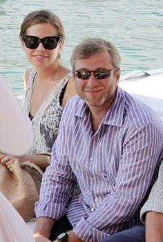Roman Abramovich y Dasha Zhukova