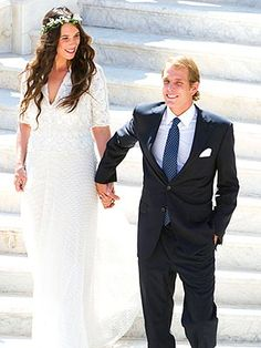 Andrea Casiraghi, Charlotte Casiraghi, Grace Kelly, Royal Brides, Royal Weddings, Hollywood Fashion, Royal Fashion, Wedding Bells, Wedding Gowns