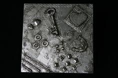 """Wanddeko - Metal Art Bild """"Geheimnis der Nacht"""" Aluminium Art - ein Designerstück von Angelas_Kreativwelt bei DaWanda"""