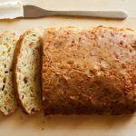 Ароматный сырный хлеб без замеса. Потрясающий вкус!