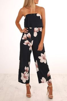 6c03ef0054ae Shes Everywhere Jumpsuit Navy Jumpsuit Dressy
