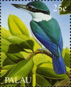 Stamp - Palau 25c