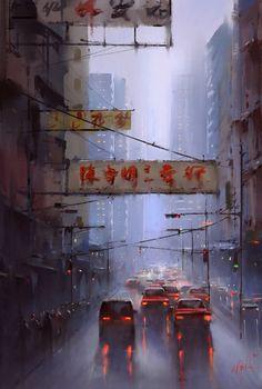 hongkong by yi fanEXOTIQUE 6: The World's Most Beautiful CG Characters