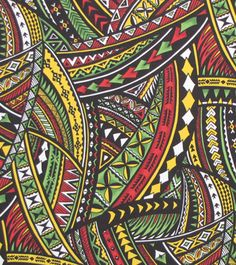 Tapa Fabric, Modern & Traditional Tapa Pattern. Check it out at HawaiianFabricNBYond.Etsy.com  Aloha :)