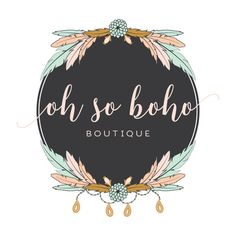 Premade Logo - Boho Premade Logo Design - Customized with Your Business Name! cizim Boho Premade Logo Design - Customized with Your Business Name! Boutique Names, Boho Boutique, Boutique Logo, Baby Gifts To Make, Clothing Packaging, Branding Design, Logo Design, Crystal Logo, Pop Up Window