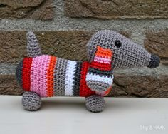 Mesmerizing Crochet an Amigurumi Rabbit Ideas. Lovely Crochet an Amigurumi Rabbit Ideas. Love Crochet, Crochet Gifts, Diy Crochet, Crochet Dolls, Crochet Baby, Crochet Rabbit, Crochet Amigurumi Free Patterns, Dog Pattern, Crochet Animals