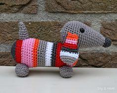 Mesmerizing Crochet an Amigurumi Rabbit Ideas. Lovely Crochet an Amigurumi Rabbit Ideas. Love Crochet, Crochet Gifts, Diy Crochet, Crochet Dolls, Crochet Mignon, Confection Au Crochet, Crochet Amigurumi Free Patterns, Dog Pattern, Loom Knitting