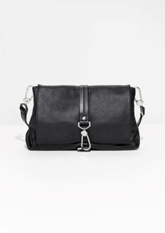 & Other Stories | Soft Leather Buckle Crossover