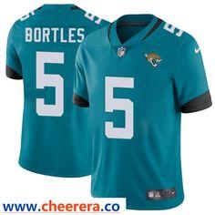 Nike Jacksonville Jaguars  5 Blake Bortles Teal Green Team Color Men s  Stitched NFL Vapor Untouchable 6fbe6d552