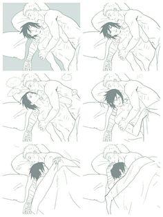 Dont you ever let him go! #sasunaru #narusasu