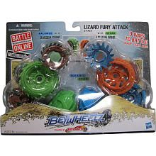 Beyblade Beywheelz Battle Tops 2-Pack - Lizard Fury Attack