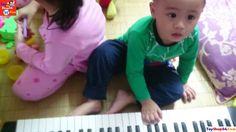 Cười vỡ bụng với Nhạc sĩ bất đắc dĩ chơi đàn Organ vui nhộn, Kid fun pla...
