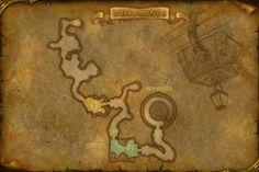 Map Under Ro Dragon Turtle Island Deck 1