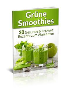 """In diesem Buch lernst Du, wie Du Grüne Smoothies herstellst und in Deine tägliche Ernährung integrierst. Es folgen 30 grüne Smoothie Rezepte zum Abnehmen. Klick hier um es Dir bei Amazon zu bestellen! Für wen ist das Grüne Smoothies Rezeptbuch geeignet? """"Grüne Smoothies: 30 gesunde & leckere..."""