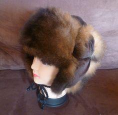 ea4606b2b3a New Zealand Possum Fur Man s Bush Hat (Fur Inside) - Natural Brown Natural  Brown