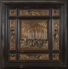 "Ferdinand Barbedienne | The Story of Joseph from the Second Baptistery Doors, Florence (""The Gates of Paradise"") (ca. 1880) 
