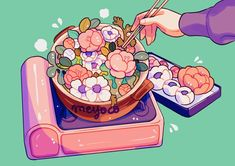 "38.8k Likes, 58 Comments - meyoコ (@meyoco) on Instagram: ""Hotpot"""