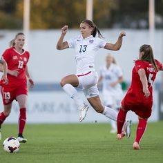 Alex Morgan vs. Switzerland, 2015 AlgarveCup. (U.S. SSoccer/Instagram)