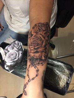 #rosary #tattoo #flower