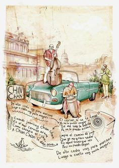 Illustrations (2006-2009) by Alexey Kurbatov, via Behance