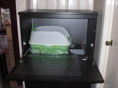 Cat food, litter and nap Cabinet - IKEA Hackers - IKEA Hackers