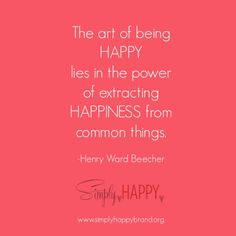 #simplyhappyquote