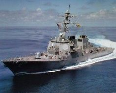 U.S. Navy USS Cole DDG 67 Guided Missile Destroyer Military Ships Planes Poster 16x20