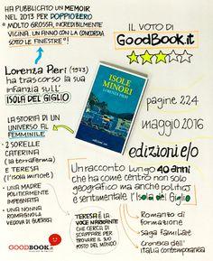 Bello il primo romanzo di #LorenzaPieri ambientato all'#IsolaDelGiglio per #Edizioni E/O! #daleggere #GoodBook #recensione