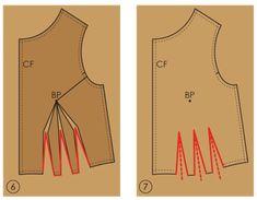Fundamentals of Pattern Making: Waist Tucks - The Cutting Class