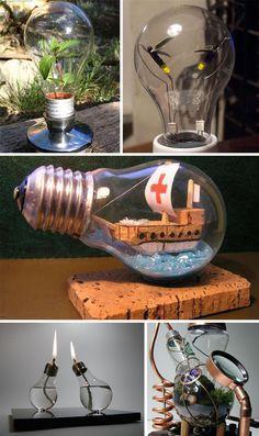 Light Bulbs As Art: 14 Shining Examples | WebUrbanist