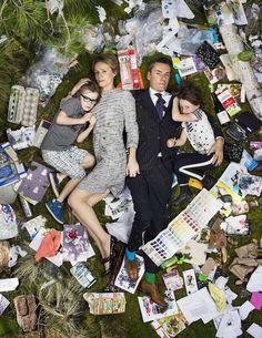 7 Days of Garbage by Gregg Segal